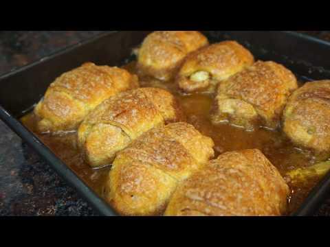 Pillsbury Crescent Roll Apple Dumplings | Light ASMR