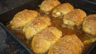 Pillsbury Crescent Roll Apple Dumplings
