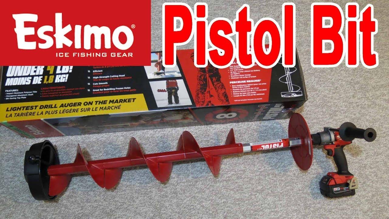ESKIMO Pistol Bit 8/'/' 35500 Ice Drill Auger