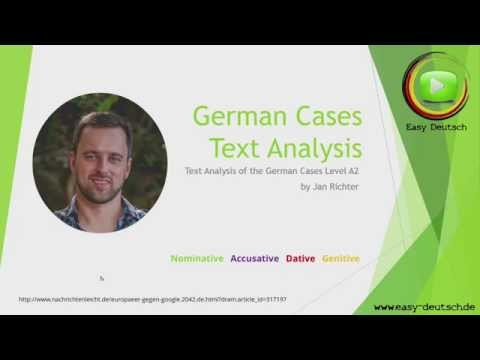 German Case Analysis // Use of the cases explained on examples!