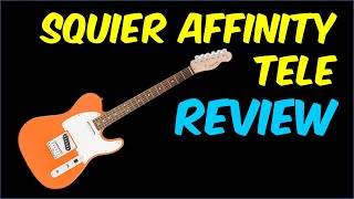 Squier Affinity Telecaster Review (2019)