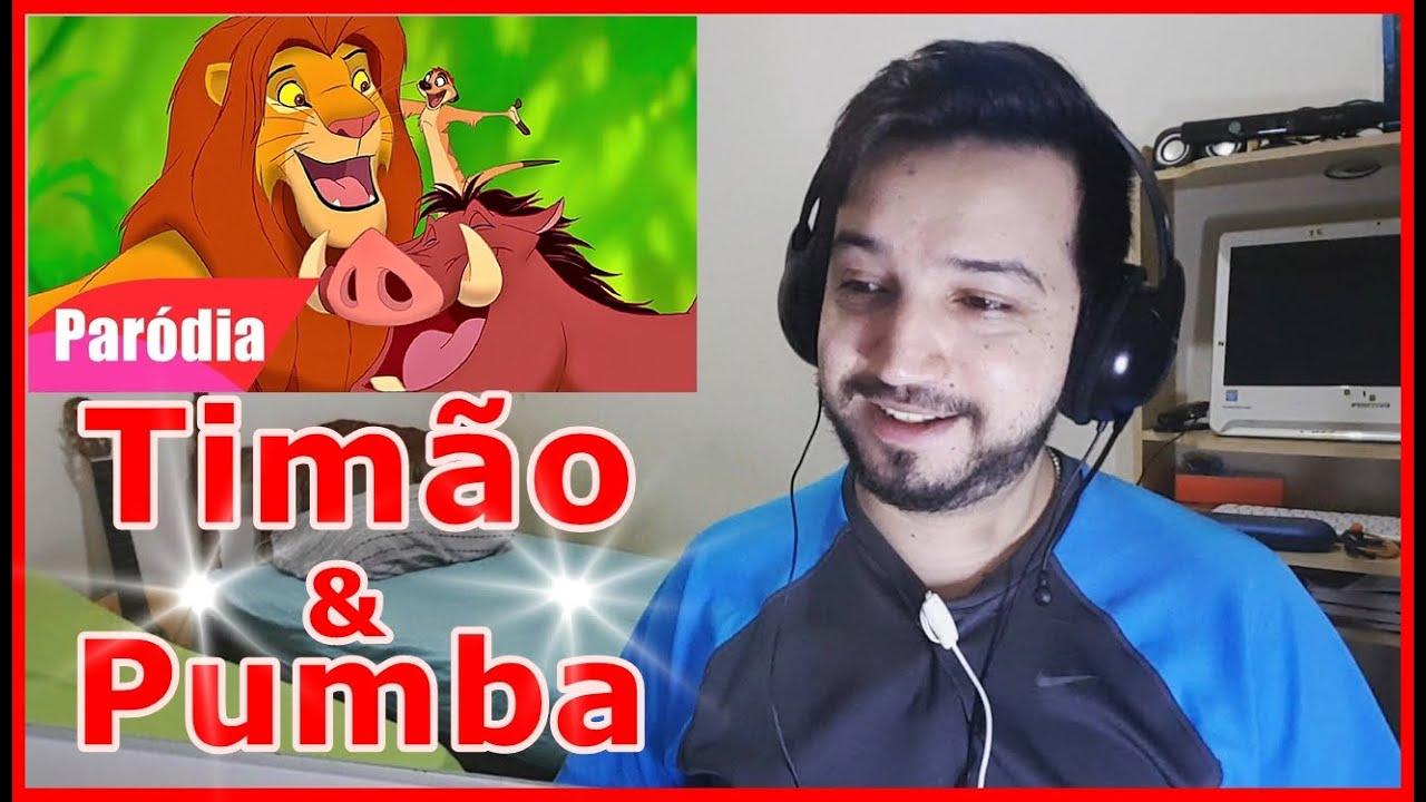 React O REI LEÃO - Timão e Pumba - Quem Dorme é o Leão (Funk) PARÓDIA (Gustavo Paródias