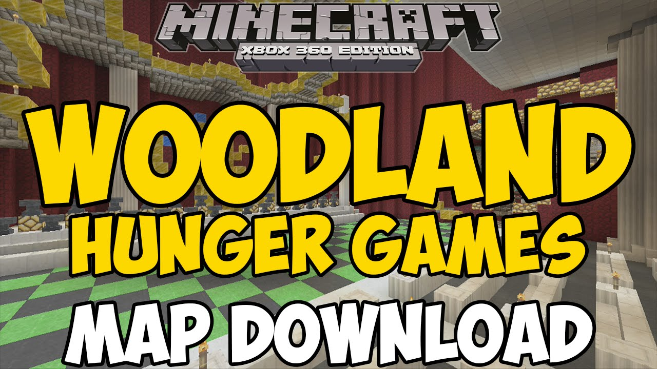 Hunger Games #1 Map Download for Minecraft Xbox 360 ...