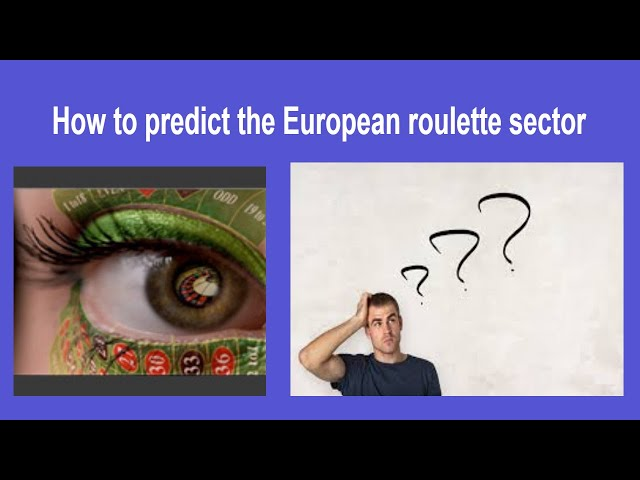 How to predict the European roulette sector that will come out !!Roulette Frequencies/ 🌀
