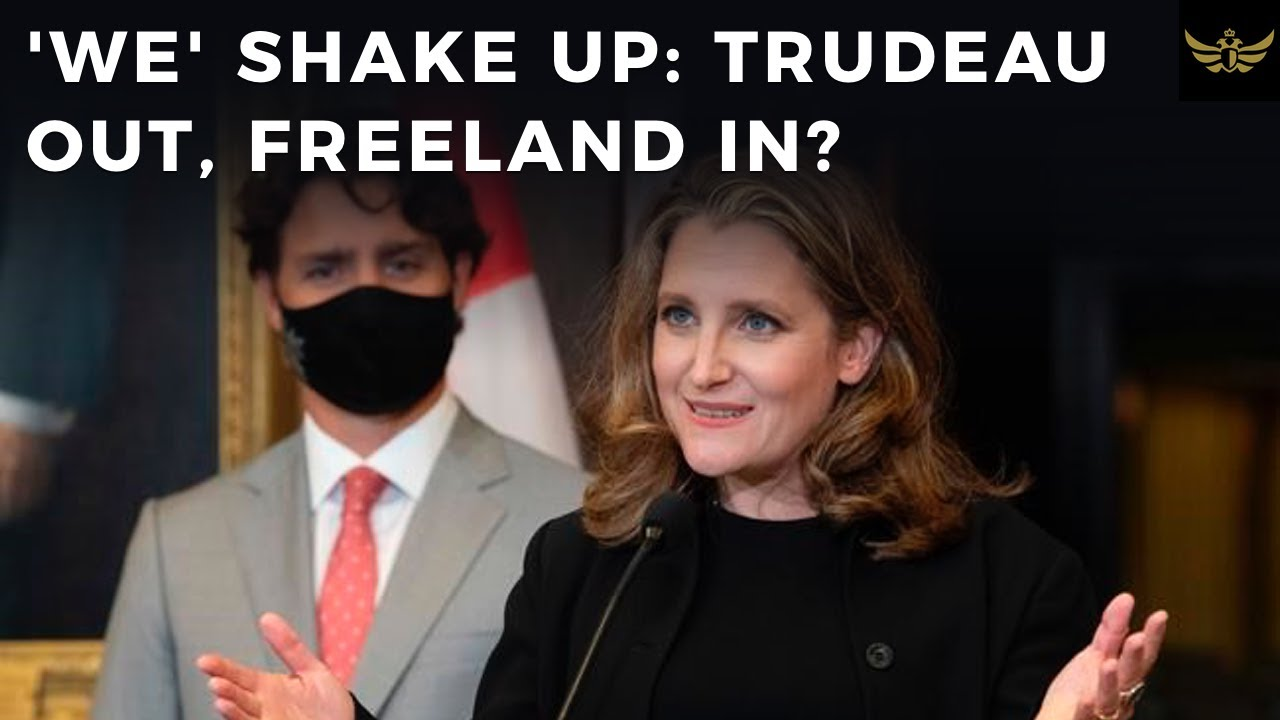 Canada shake up. Trudeau out, Freeland in? O'Toole to lead Conservatives.