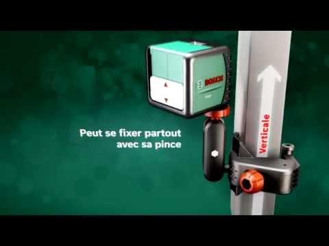 Niveau laser bosch pcl 10 doovi - Comment utiliser un niveau laser ...