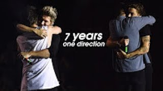 7 YEARS OF ONE DIRECTION