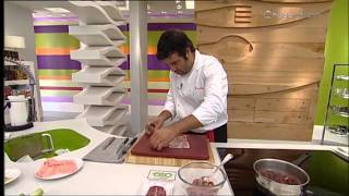 Cocina con Bruno Oteiza: Medallones de cordero rellenos