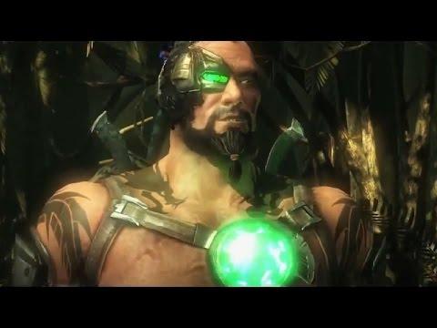 Mortal Kombat X - Kano Gameplay Trailer - MKX New Character