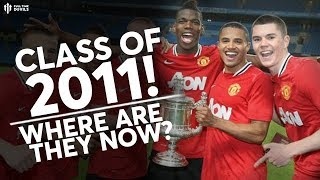 Man Utd 2011 FA Youth Cup Winning Team | Where Are They Now?