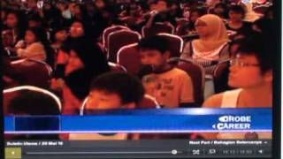 FusionExcel Hope For Children World Carnival Day celebration on Malaysia National TV3