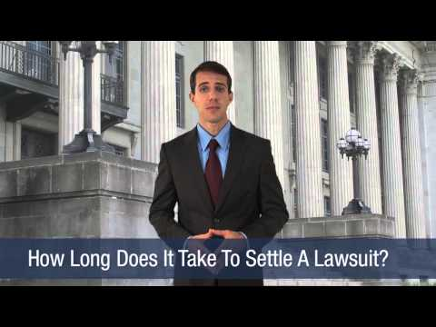 How Long Does It Take To Settle A Lawsuit