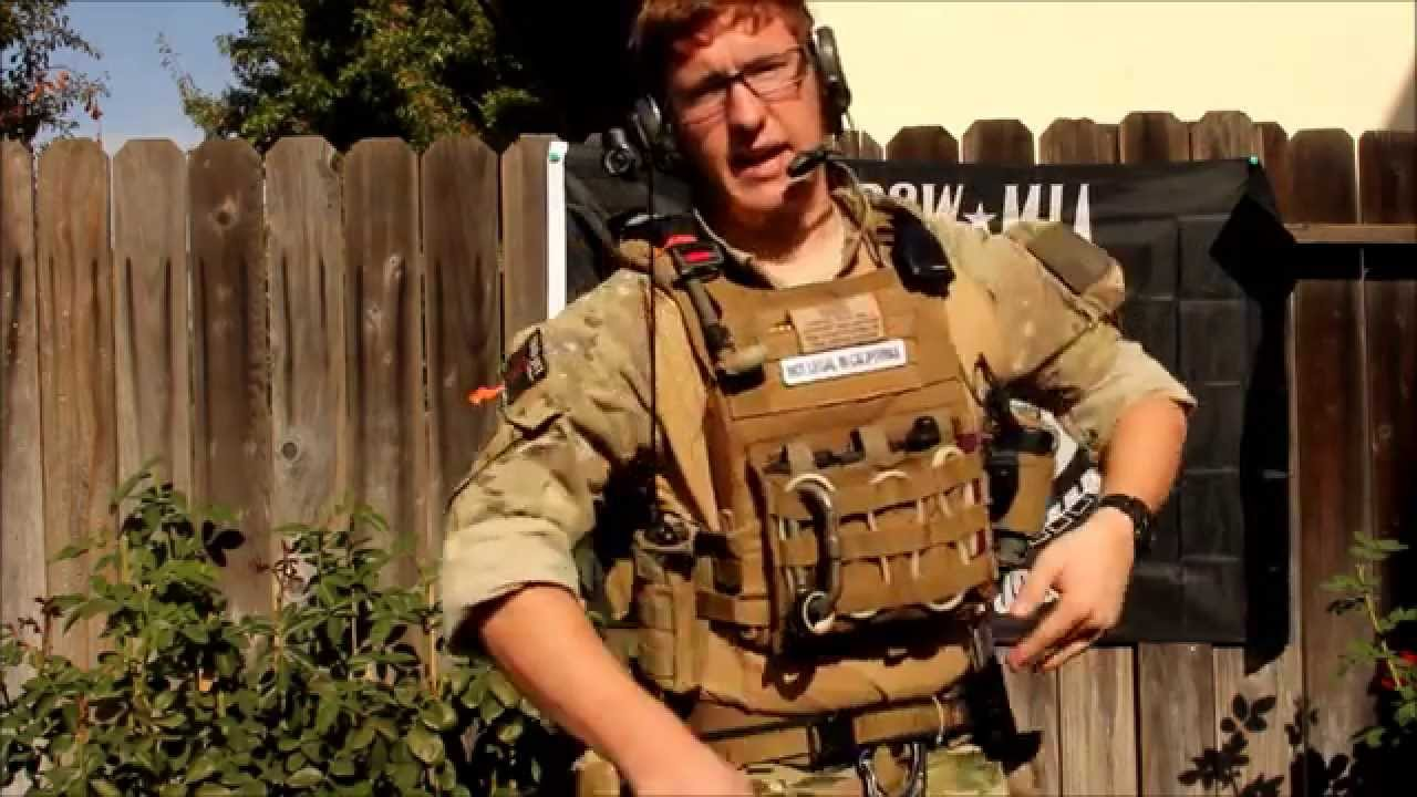 2015 Usaf Pararescue Inspired Milsim West Loadout Youtube