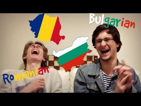 THE LANGUAGE CHALLENGE (Bulgarian vs. Romanian)