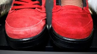 HOW TO DYE SUEDE NIKES, JORDANS, ETC...