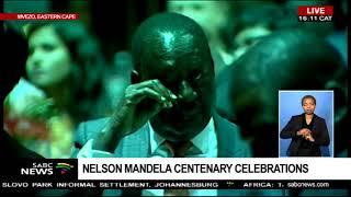 President Ramaphosa addresses the Mandela centenary celebrations