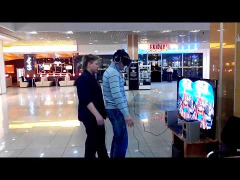 Man's reaction to virtual reality rollercoaster prank is quite extreme!!!