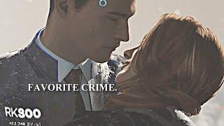 Favorite Crime   Connor x North   Detroit: Become Human