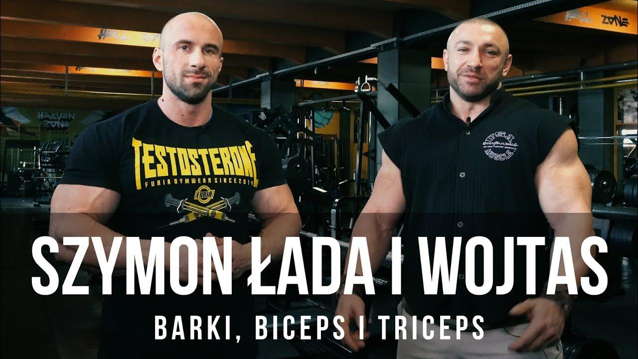 Szymon Łada i Wojtas - Barki, biceps i triceps | Hellgym