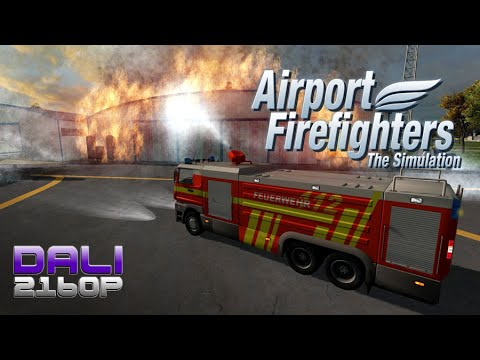 Airport Firefighters - The Simulation PC 4K Gameplay 2160p