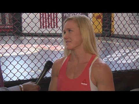 Former UFC Bantamweight Champ Holly Holm is in Van Tate's Sports Office