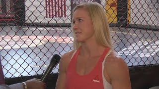 Former UFC Bantamweight Champ Holly Holm is in Van Tate