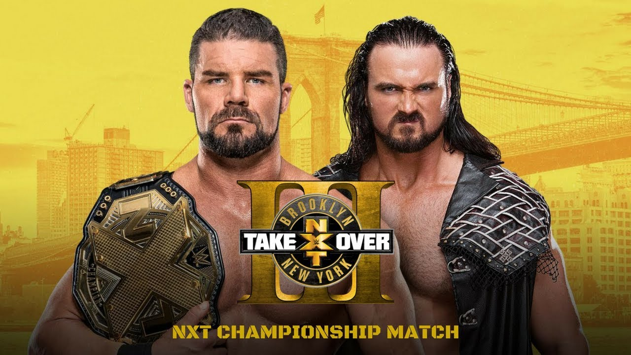 Download NXT Takeover: Brooklyn III: Bobby Roode vs. Drew McIntyre
