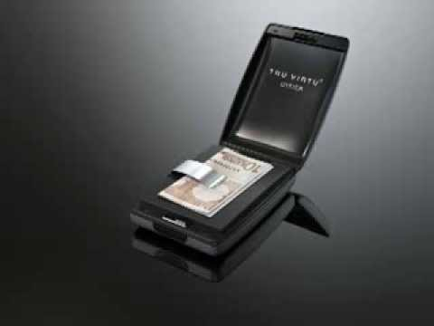Tru Virtu Razor Aluminium Wallet Slim Card Case Credit Card Money Clip