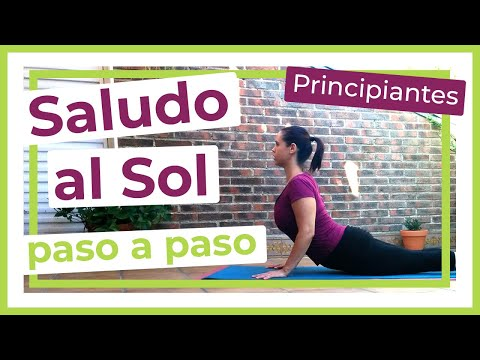 El Saludo al Sol de 12 posiciones, tutorial paso por paso