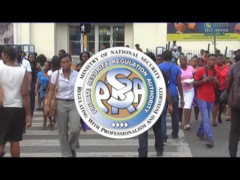 Private Security Regulation Authority - Jamaica