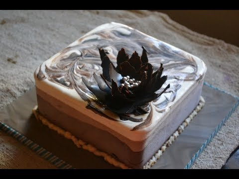 Triple Chocolate Ice Cream Cake - No Churn, Eggless - Gayathri's Cook Spot