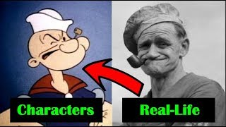 Top 10 Real-Life Inspirations For Famous Cartoon Characters - Listverse TV