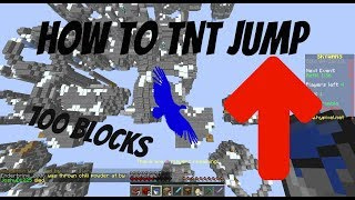 How to easily TNT jump in Minecraft 1.12+