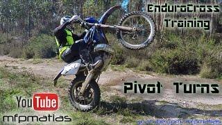 EnduroCross Training | Pivot Turns | Wheelies | Jumps (GasGas EC250)