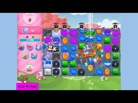 Candy Crush Saga Level 3143 NO BOOSTERS Cookie