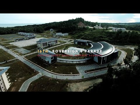 Brunei Officer Cadets School Intake 16