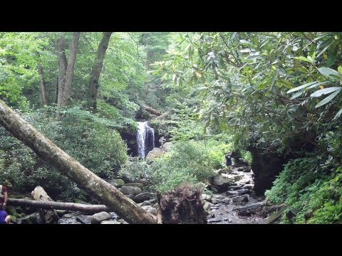 Grotto Falls Hike and 3 X 3 Knife Tag