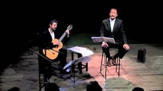 Federico García Lorca. Canciones populares españolas. J. J. Frontal - C. Wernicke