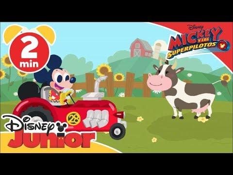 Mickey: Canciones Infantiles - El viejo McDonald tenía una granja | Disney Junior Oficial
