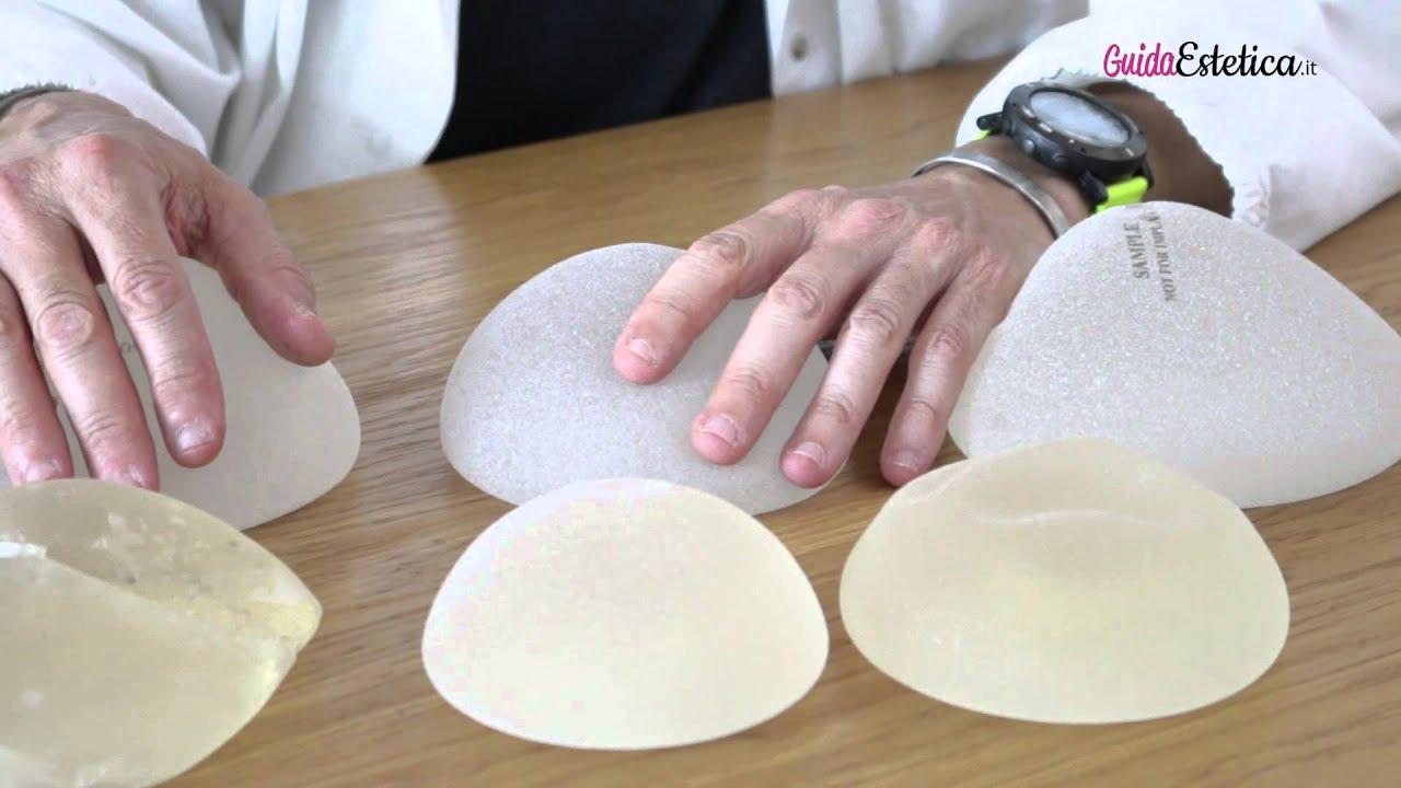 I tipi di protesi mammarie