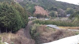 2018.1.7 特急宇和海17号  双岩〜伊予石城
