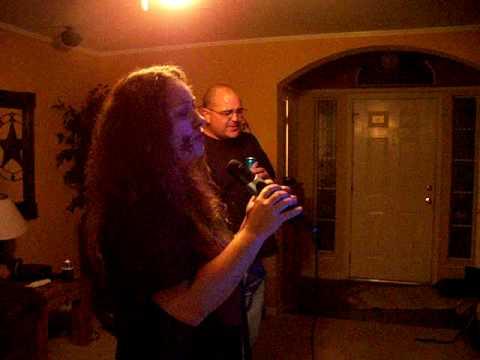 lacey sings karaoke