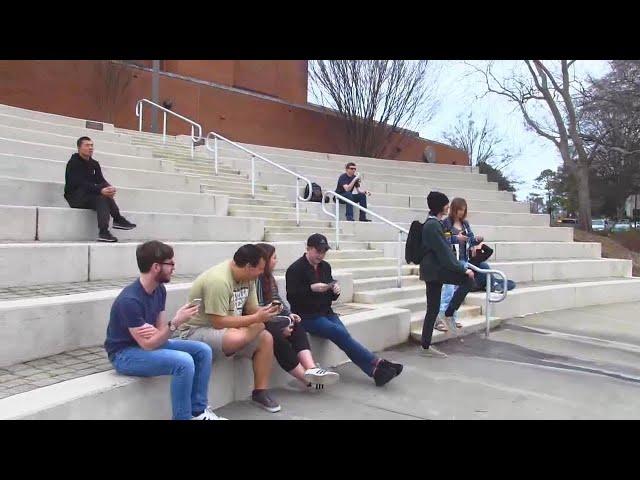 Reasoning from the Scriptures at Georgia Tech in Atlanta - Kerrigan Skelly of PinPoint Evangelism