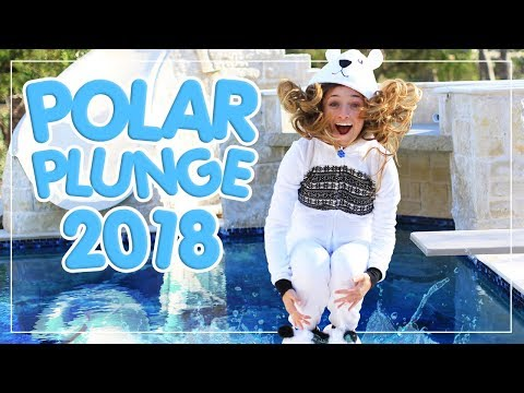 Polar Bear Plunge 2018 | Brooklyn and Bailey ft Grant Knoche