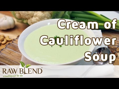 how-to-make-hot-soup-(cream-of-cauliflower-recipe)-in-the-vitamix-5200-blender-by-raw-blend