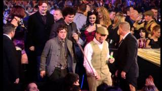 Arctic Monkeys win MasterCard Album of the Year presented by Vic Reeves | BRIT Awards 2008
