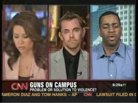 CNN Concealed Campus Debate - Scott Lewis vs Garrett Evans
