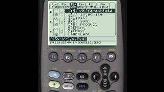 TI89: How to Integrate Using Your Calculator