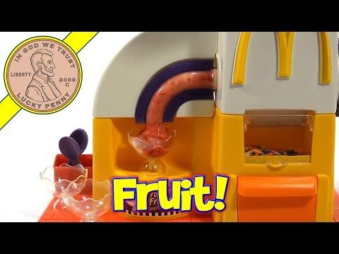 McDonald's Happy Meal Magic Frozen Fruit Snack Maker Set, 1993 Mattel Toys (Fun Recipes)