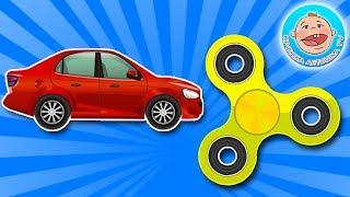 Колекція улюблених іграшок Fidget Spinner і Машинки Новий Збірник Мультики для Дітей